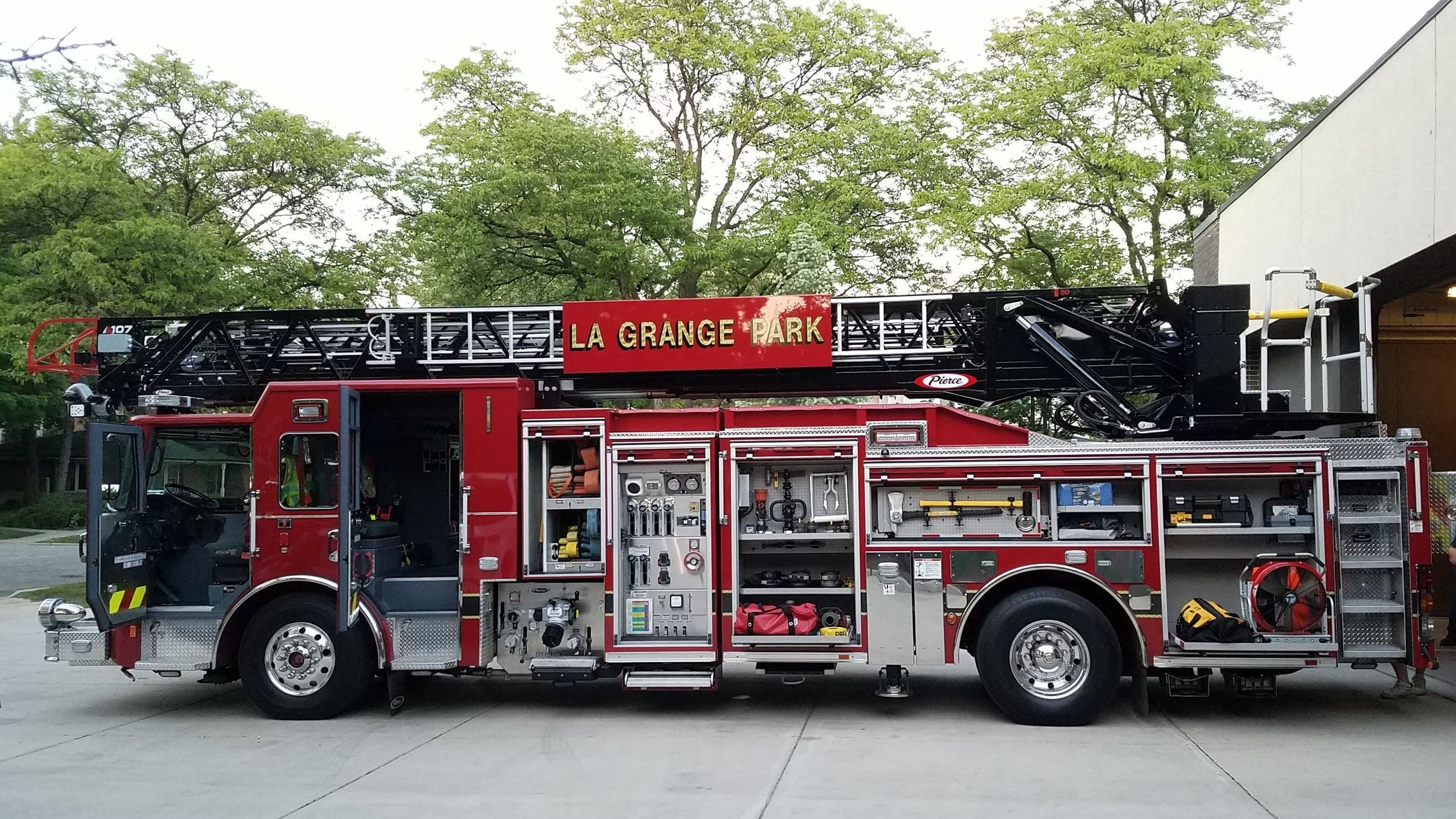 Photo of New Ladder Truck