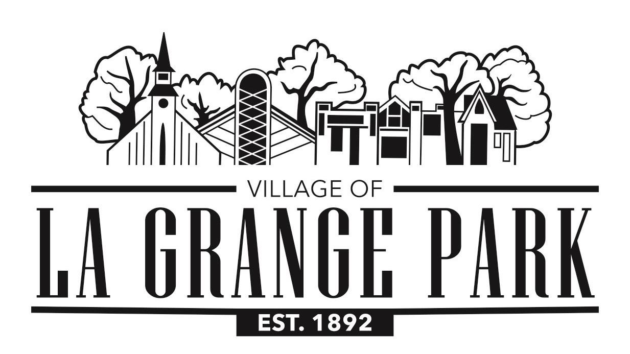 Black LaGrange Park Logo_Village of LaGrange Park