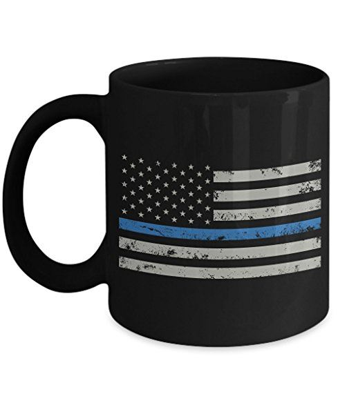 police coffee cup