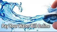 Water Bill Payments Online